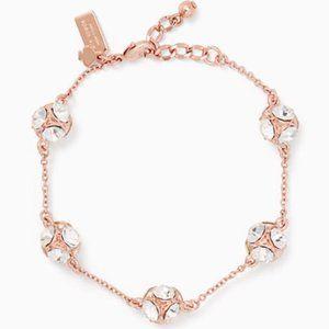 Kate Spade Lady Marmalade Crystal Link Bracelet